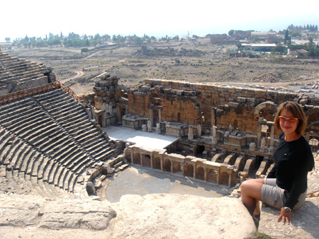 The Theatre in Hierapolis